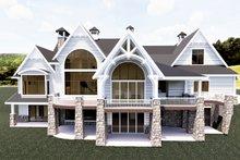 Craftsman Exterior - Rear Elevation Plan #920-111