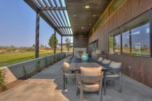 Architectural House Design - Contemporary Exterior - Outdoor Living Plan #892-26