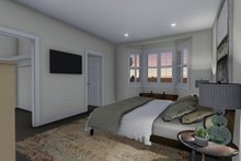 House Plan Design - Ranch Interior - Master Bedroom Plan #1060-11