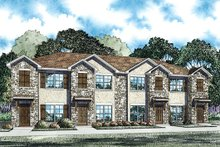 House Plan Design - Traditional Exterior - Front Elevation Plan #17-2466