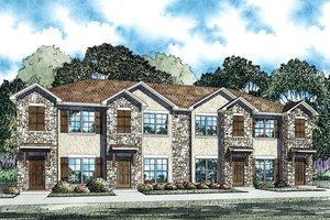 Traditional Exterior - Front Elevation Plan #17-2466