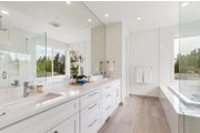 Contemporary Style House Plan - 4 Beds 2.5 Baths 3384 Sq/Ft Plan #1066-121 Interior - Master Bathroom