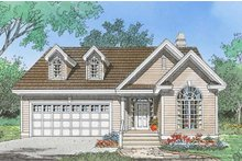 Dream House Plan - Ranch Exterior - Front Elevation Plan #929-1097