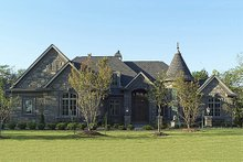 Dream House Plan - Front View - 6400 square foot European style home