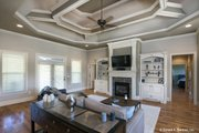 Traditional Style House Plan - 3 Beds 2 Baths 1974 Sq/Ft Plan #929-924 Interior - Family Room