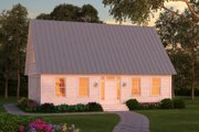 Colonial Style House Plan - 2 Beds 2 Baths 1960 Sq/Ft Plan #903-1 Exterior - Front Elevation