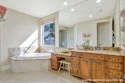 European Style House Plan - 4 Beds 4.5 Baths 5045 Sq/Ft Plan #930-505 Interior - Bathroom