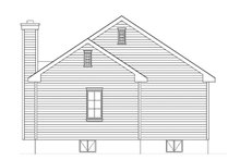 Architectural House Design - Ranch Exterior - Rear Elevation Plan #22-614