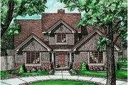 Traditional Style House Plan - 4 Beds 2.5 Baths 2351 Sq/Ft Plan #20-218 Exterior - Front Elevation
