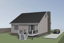 Southern Exterior - Other Elevation Plan #79-161