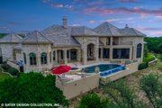 European Style House Plan - 4 Beds 5.5 Baths 6594 Sq/Ft Plan #930-516 Exterior - Outdoor Living