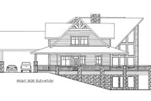 House Plan Design - Ranch Exterior - Other Elevation Plan #117-632