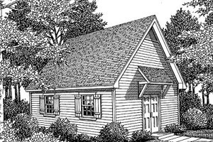 Traditional Exterior - Front Elevation Plan #41-102