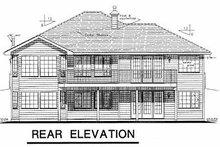 Home Plan - Ranch Exterior - Rear Elevation Plan #18-184