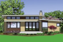Dream House Plan - 1700 square foot modern 3 bedroom 2 bath house plan