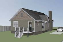Home Plan - Bungalow Exterior - Other Elevation Plan #79-174