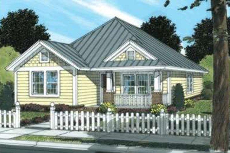 House Plan Design - Craftsman Exterior - Front Elevation Plan #20-1889