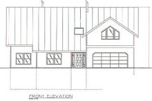 Home Plan - Traditional Exterior - Other Elevation Plan #117-169