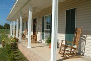 Southern Style House Plan - 4 Beds 3 Baths 2156 Sq/Ft Plan #44-106