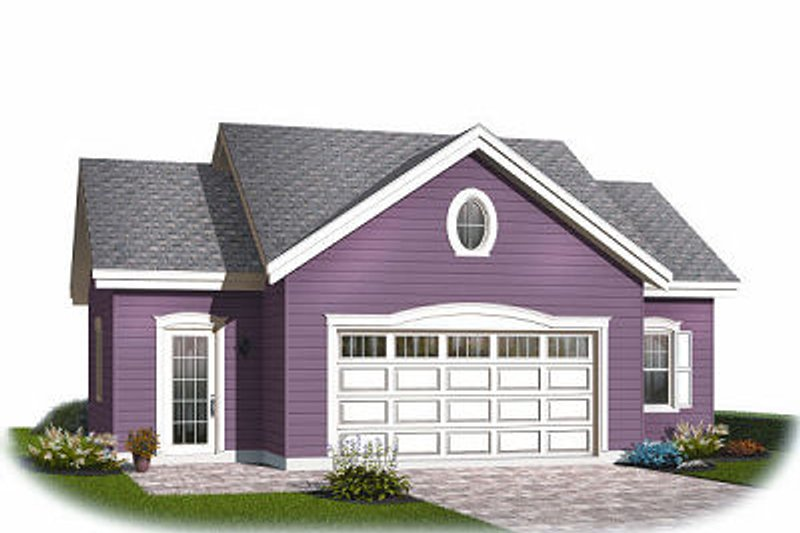 Traditional Exterior - Front Elevation Plan #23-768 - Houseplans.com