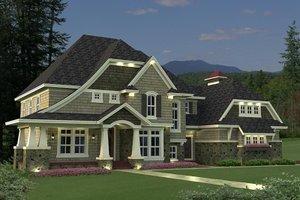 Exterior - Front Elevation Plan #51-544