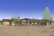 Architectural House Design - Mediterranean Exterior - Front Elevation Plan #892-31
