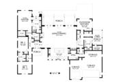 Modern Style House Plan - 3 Beds 2.5 Baths 3681 Sq/Ft Plan #48-694