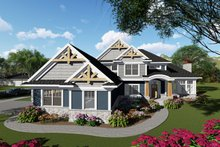 Home Plan - Craftsman Exterior - Front Elevation Plan #70-1428