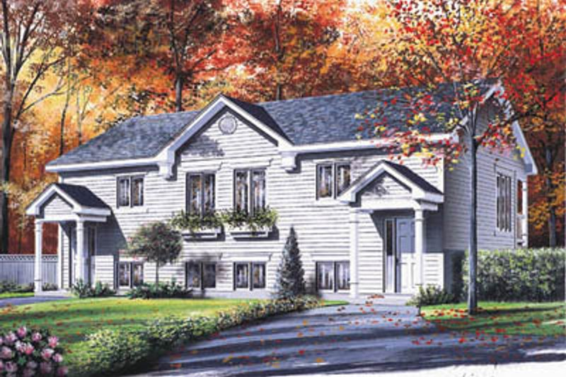 Dream House Plan - Traditional Exterior - Front Elevation Plan #23-301
