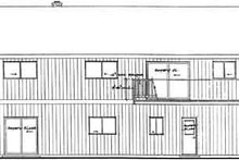 Modern Exterior - Rear Elevation Plan #126-108