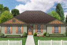 House Design - Ranch Exterior - Front Elevation Plan #84-475