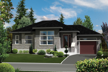 House Design - Contemporary Exterior - Front Elevation Plan #25-4273