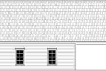 Traditional Exterior - Rear Elevation Plan #21-457