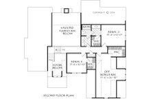 Farmhouse Floor Plan - Upper Floor Plan Plan #927-1003