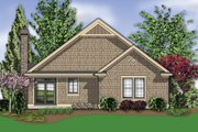Craftsman Style House Plan - 3 Beds 2 Baths 1275 Sq/Ft Plan #48-586 Exterior - Rear Elevation