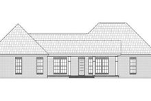 Home Plan - Traditional Exterior - Rear Elevation Plan #21-291
