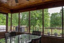 House Design - Craftsman Exterior - Outdoor Living Plan #17-3391