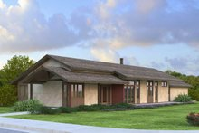 Home Plan - Ranch Exterior - Front Elevation Plan #124-983