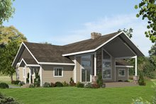 House Plan Design - Country Exterior - Front Elevation Plan #117-894