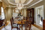 Country Style House Plan - 4 Beds 3 Baths 3939 Sq/Ft Plan #137-148 Interior - Dining Room