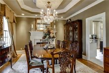 Dream House Plan - Country Interior - Dining Room Plan #137-148