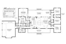 Farmhouse Floor Plan - Main Floor Plan Plan #1074-14