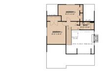 Cottage Floor Plan - Upper Floor Plan Plan #923-118