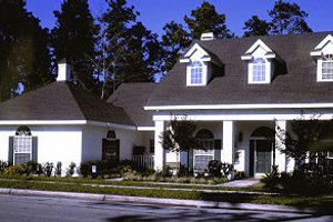 Traditional Exterior - Front Elevation Plan #417-316