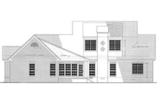 Home Plan - Southern Exterior - Other Elevation Plan #406-117
