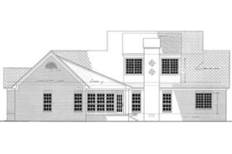 Southern Exterior - Other Elevation Plan #406-117 - Houseplans.com