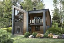 Architectural House Design - Cottage Exterior - Front Elevation Plan #25-4926