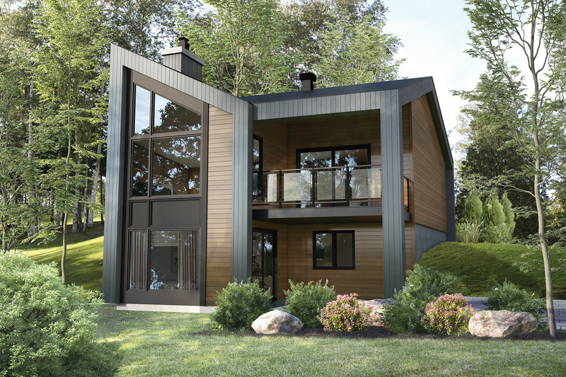 Dream House Plan - Cottage Exterior - Front Elevation Plan #25-4926
