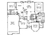 European Style House Plan - 5 Beds 4.5 Baths 3618 Sq/Ft Plan #927-27