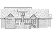House Plan Design - Country Exterior - Rear Elevation Plan #1054-28